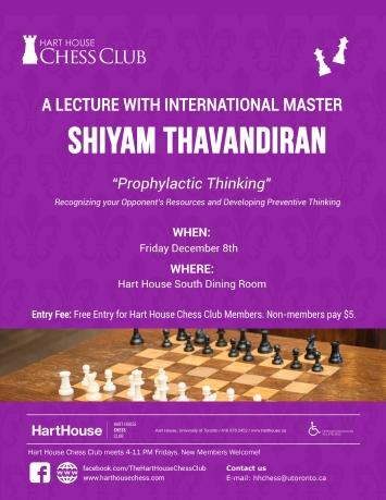 Thavandiran Lecture