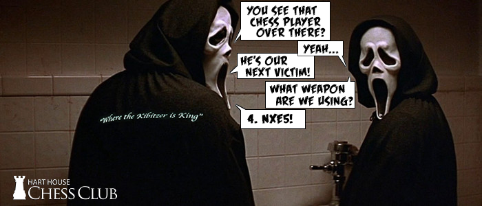 Hallloween Chess Meme